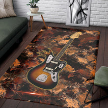 Load image into Gallery viewer, Fender Mustang  Rug, Living Room Rug,  Halloween Gift
