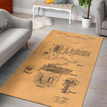 Load image into Gallery viewer, Fender Tremolo Device  Rug,  Living room and bedroom Rug,  Family Decor