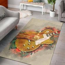 Load image into Gallery viewer, Fogerty Guitar  Rug,  Gift for fans,  Floor Decor