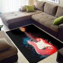 Load image into Gallery viewer, Gary Moore  Instrument Area Rug,  Living room and bedroom Rug, Home Decor