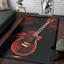 Load image into Gallery viewer, Gibson Les Paul  Rug,  Living room and bedroom Rug,  Halloween Gift