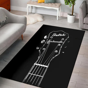 Gretsch Synchromatic  Rug,  Living room and bedroom Rug,  Floor Decor