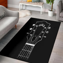 Load image into Gallery viewer, Guild Guitar  Area Rugs,  Living room and bedroom Rug,  Family Decor