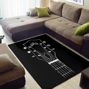 Guild Guitar  Area Rugs,  Living room and bedroom Rug,  Family Decor