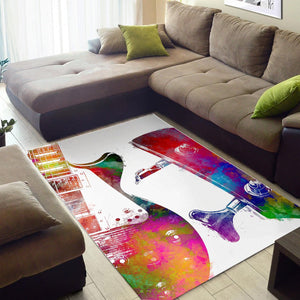 Guitar  Area Rugs,  Bedroom,  Halloween Gift