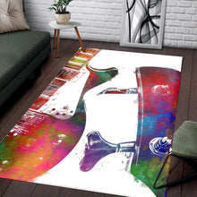 Load image into Gallery viewer, Guitar  Area Rugs,  Bedroom,  Halloween Gift