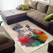 Load image into Gallery viewer, Guitar  Area Rugs,  Living room and bedroom Rug,  Family Decor