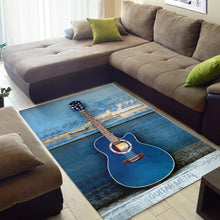 Load image into Gallery viewer, Guitar  Area Rugs, Living Room Rug,  Family Decor