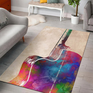 Guitar Art  Area Rugs,  Bedroom,  Family Decor