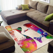 Load image into Gallery viewer, Guitar Art  Area Rugs,  Kitchen Rug,  Halloween Gift
