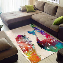 Load image into Gallery viewer, Guitar Art  Rug,  Gift for fans,  Christmas Gift