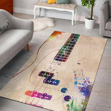 Load image into Gallery viewer, Guitar Art  Rug,  Kitchen Rug,  Christmas Gift