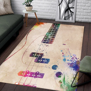 Guitar Art  Rug,  Kitchen Rug,  Christmas Gift
