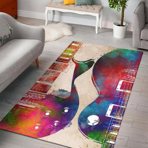 Guitar Art  Rug,  Kitchen Rug,  Floor Decor