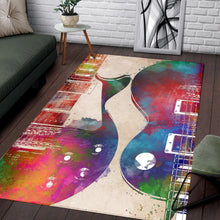 Load image into Gallery viewer, Guitar Art  Rug,  Kitchen Rug,  Floor Decor