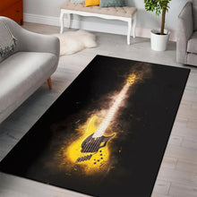 Load image into Gallery viewer, Guitar Bass  Printing Instrument Rug,  Kitchen Rug,  Halloween Gift