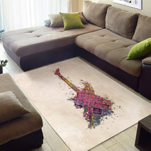 Load image into Gallery viewer, Guitar Electric  Area Rugs,  Gift for fans,  Halloween Gift