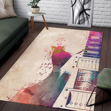 Load image into Gallery viewer, Guitar  Instrument Area Rug,  Gift for fans,  Halloween Gift