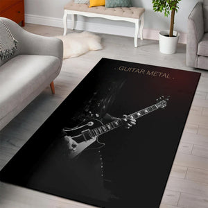 Guitar Metal  Area Rugs,  Gift for fans,  Floor Decor