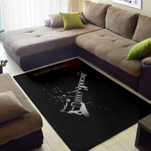 Load image into Gallery viewer, Guitar Metal  Area Rugs,  Gift for fans,  Floor Decor