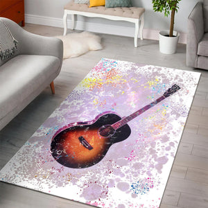 Guitar  Music Rug,  Kitchen Rug,  Family Decor