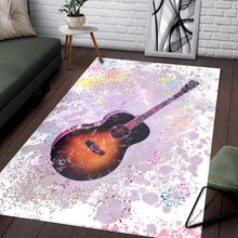 Load image into Gallery viewer, Guitar  Music Rug,  Kitchen Rug,  Family Decor