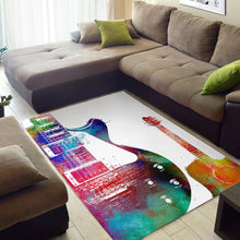 Load image into Gallery viewer, Guitar  Music Rug, Living Room Rug, Home Decor