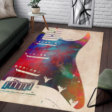 Load image into Gallery viewer, Guitar  Printing Instrument Rug,  Kitchen Rug,  Christmas Gift