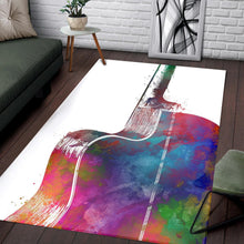 Load image into Gallery viewer, Guitar  Printing Instrument Rug,  Kitchen Rug,  Halloween Gift