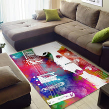 Load image into Gallery viewer, Guitar  Printing Instrument Rug,  Kitchen Rug, Home Decor