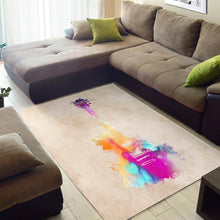 Load image into Gallery viewer, Guitar  Printing Instrument Rug,  Living room and bedroom Rug,  Family Decor