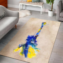 Load image into Gallery viewer, Guitar  Printing Instrument Rug,  Living room and bedroom Rug,  Halloween Gift