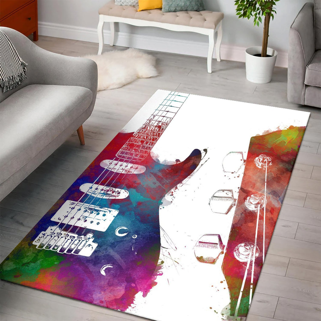Guitar  Rug,  Gift for fans,  Christmas Gift