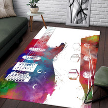 Load image into Gallery viewer, Guitar  Rug,  Gift for fans,  Christmas Gift