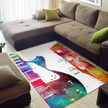 Load image into Gallery viewer, Guitar  Rug,  Living room and bedroom Rug,  Floor Decor