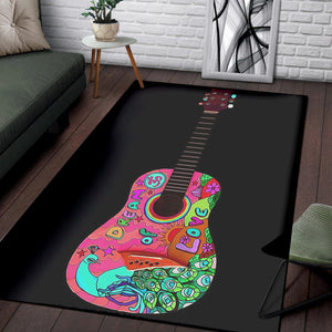 Guitars Classic  Printing Instrument Rug,  Kitchen Rug,  Christmas Gift