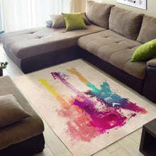 Load image into Gallery viewer, Guitars  Printing Instrument Rug,  Living room and bedroom Rug,  Floor Decor