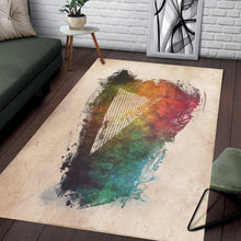Load image into Gallery viewer, Harp  Area Rugs,  Gift for fans,  Family Decor