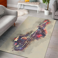 Load image into Gallery viewer, James Hetfield Guitar  Instrument Area Rug,  Bedroom,  Christmas Gift
