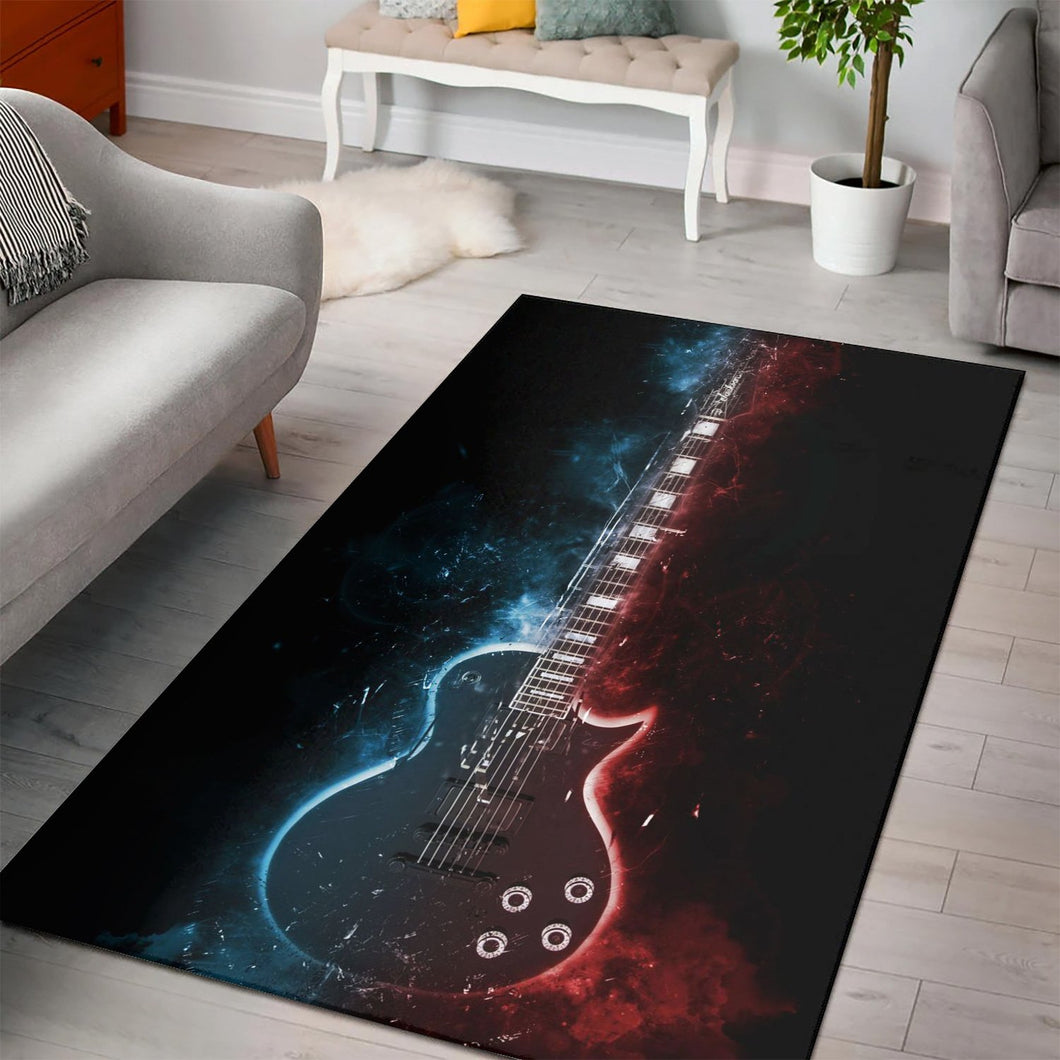 Jason Becker Guitar  Music Rug,  Gift for fans, Home Decor