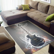 Load image into Gallery viewer, Jason Becker Guitar  Music Rug,  Kitchen Rug,  Halloween Gift