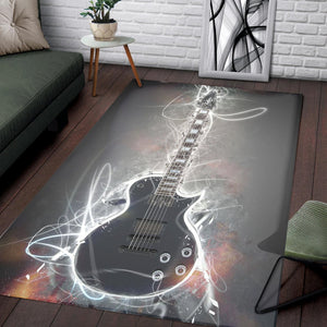 Jason Becker Guitar  Music Rug,  Kitchen Rug,  Halloween Gift