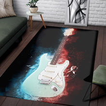 Load image into Gallery viewer, Jeff Beck Guitar  Instrument Area Rug,  Living room and bedroom Rug, Home Decor