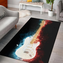 Load image into Gallery viewer, Jimi Hendrix Guitar  Area Rugs,  Kitchen Rug,  Christmas Gift