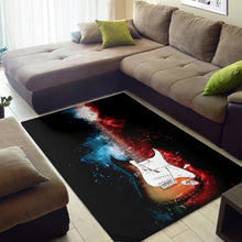 Load image into Gallery viewer, Jimi Hendrix Guitar  Rug, Living Room Rug,  Christmas Gift