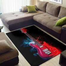 Load image into Gallery viewer, Joe Satriani Guitar  Instrument Area Rug,  Gift for fans,  Floor Decor