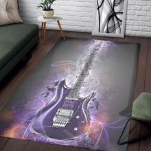 Load image into Gallery viewer, Joe Satriani Guitar  Rug,  Kitchen Rug,  Christmas Gift