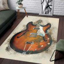 Load image into Gallery viewer, John Lennon S Guitar  Instrument Area Rug,  Gift for fans, Home Decor