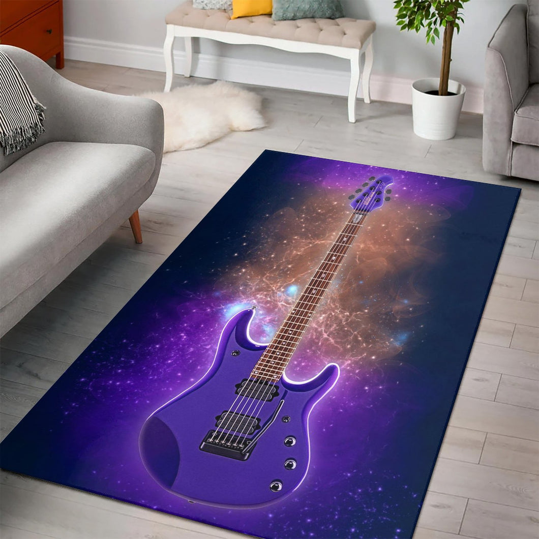 John Petrucci Guitar  Printing Instrument Rug,  Gift for fans,  Floor Decor