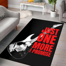 Load image into Gallery viewer, Just One More Guitar  Rug,  Living room and bedroom Rug,  Floor Decor